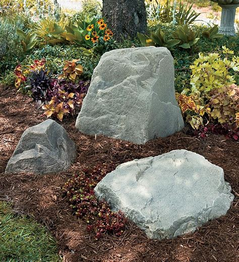 Faux Rocks For Garden 23 Creative Ways To Hide The Eyesores In Your Home And