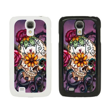 Casing Samsung Galaxy 2 Skull Custom Hardcase sugar skull cover for all samsung galaxy mobile phones 1