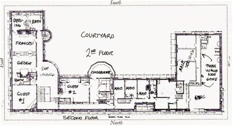 richardson homes floor plans richardson s glessner house 2nd floor plan via big old