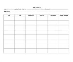 10 behavior tracking templates free sample example