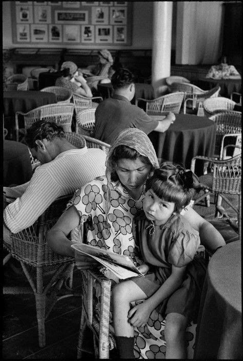 Henri Cartier-Bresson - Moscow. Gorky Park of Culture and