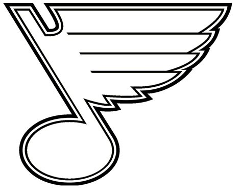 Search St Louis St Louis Blues Free Colouring Pages