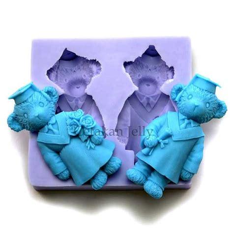 Kubis Fondant By Cetakan Jelly cetakan fondant paddington graduate cetakan jelly