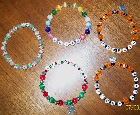 easy bead patterns gift shoppe journal easy bead bracelet pattern