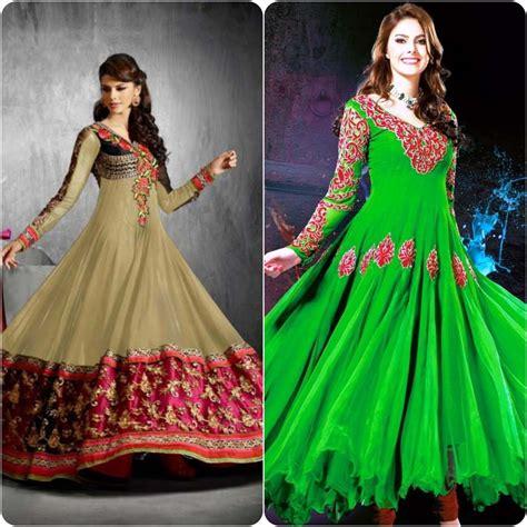 design dress frock best umbrella frock designs for asian ladies stylo planet