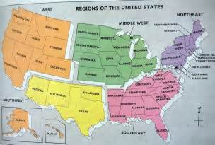 us map with capitals and regions lewis room 20 states and capitals