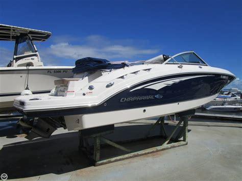 deck boat for sale jacksonville fl 2015 used chaparral sunesta 244 deck boat for sale