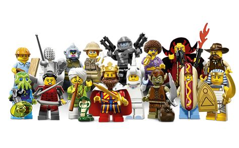 Lego Minifigure Series 13 review lego minifigures series 13 the test pit
