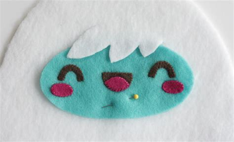 yeti softie pattern how to make a kawaii yeti monster plush softie tuts