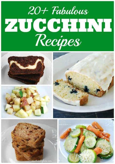 printable zucchini recipes 20 delicious zucchini recipes