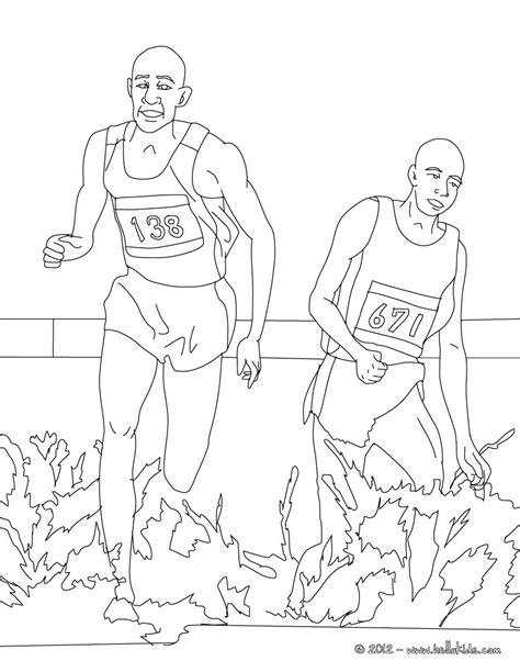 steeplechase athletics coloring page more sports coloring