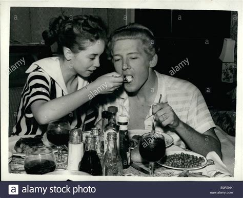 lee c stock photos and may 05 1958 singer jerry lee lewis and his child bride