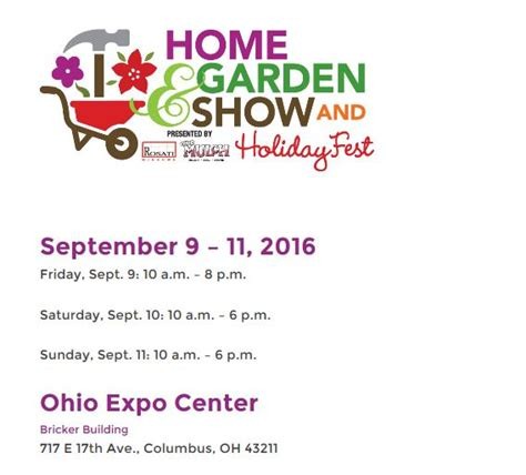 home and garden show columbus home design