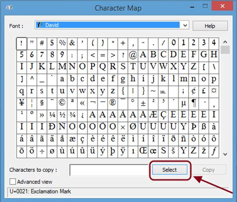 Character Map Letter A How Type Symbols And Characters In Windows And Mac Os X Digital Trends