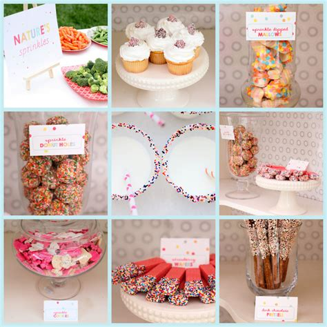 Sprinkle Baby Shower Food Ideas by Quot Sprinkled With Quot Menu Included Sprinkle