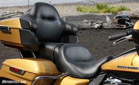 most comfortable motorcycle seats 2017 harley davidson ultra limited first ride review