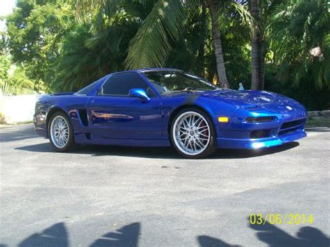 how to sell used cars 1998 acura nsx user handbook sell used acura nsx 1998 t monte carlo blue in fort lauderdale florida united states