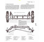 Exploded View Of A VW Ball Joint Front Beam