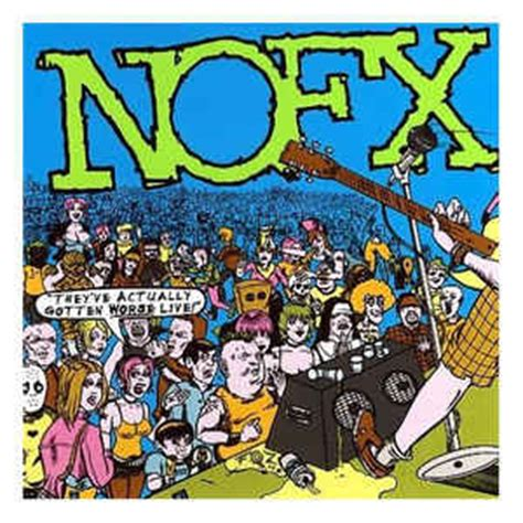 Vinyl Nofx I Heard They Live Lp nofx they ve actually gotten worse live vinyl lp