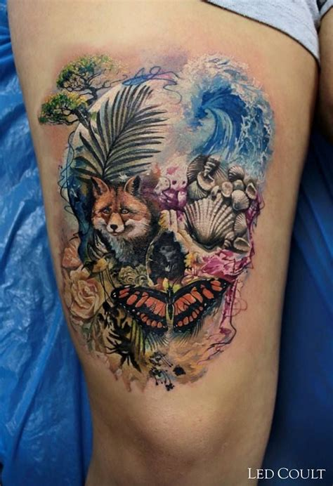 watercolor tattoo c est quoi 17 best images about tattoos on vine tattoos