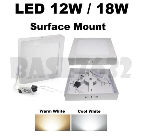 Lu Downlight Led Malaysia 12w 18w led ceiling panel surface mo end 8 17 2018 9 32 pm