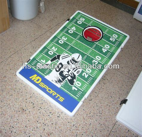 plastic bean bag toss plastic toss board with bean bag view