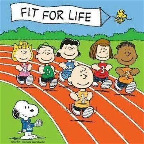 Peanuts Friends Big Fit Running Snoopy