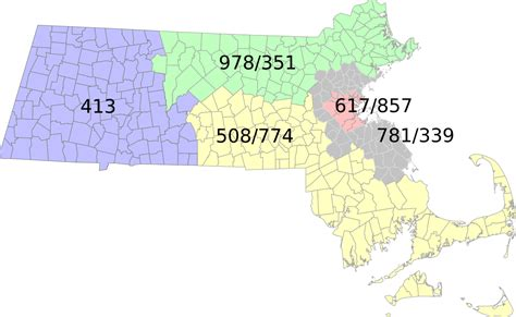 Cell Phone Lookup Ma List Of Massachusetts Area Codes
