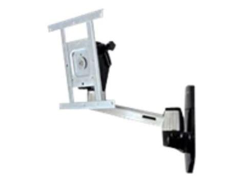 swing arm wall mounted ls ergotron lx hd wall mount swing arm ebuyer