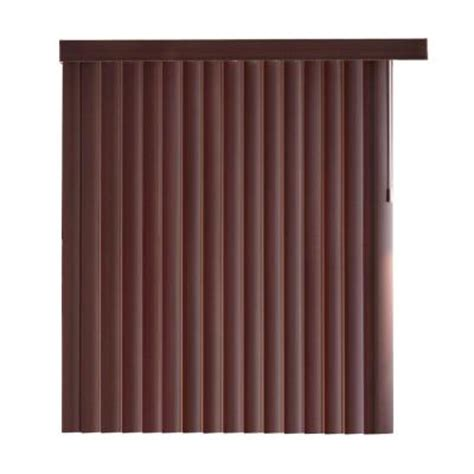 bamboo curtains home depot home decorators collection espresso bamboo 4 5 in pvc