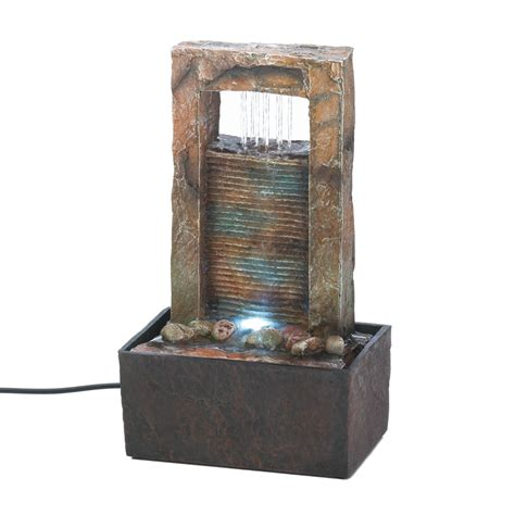 cascading water tabletop fountain wholesale at koehler