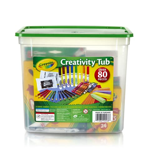 Crayola Tub crayola creativity tub jo