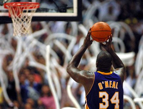 shaquille oneal free throw why can t nba players make free throws hoopshype
