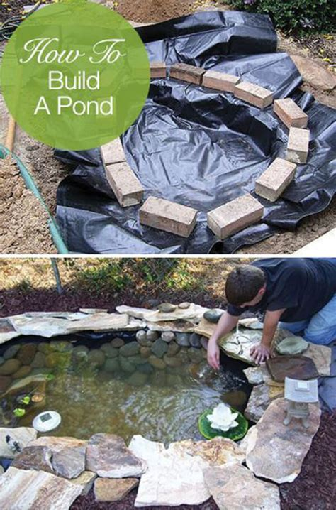 diy backyard pond ideas  designs