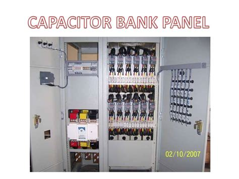 capacitor bank panel capacitor bank harmonic filter panel tokophilips
