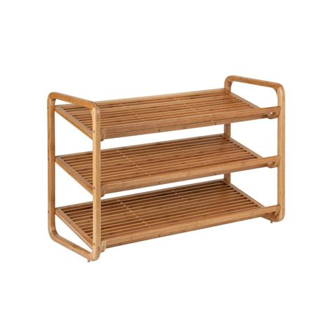 Kitchen Furnitures List Honey Can Do 3 Tier 9 Pair Deluxe Shoe Shelves In Bamboo
