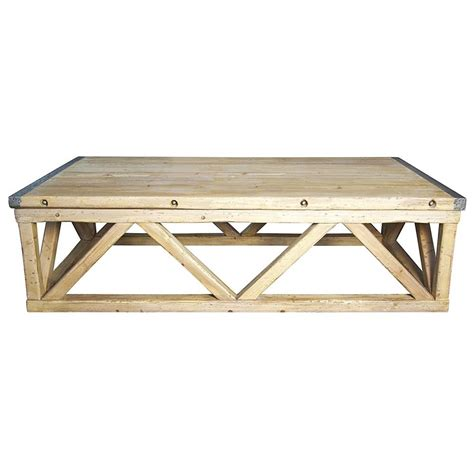metal and wood coffee table duncan industrial loft metal wood coffee table kathy kuo