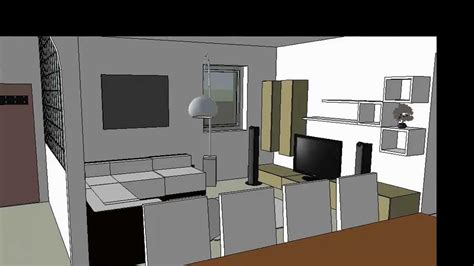 sketchup layout interior design interior design google sketchup 8 youtube