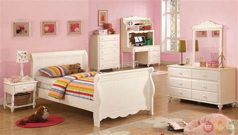 white princess bedroom set adriana princess white sleigh bedroom set with molding