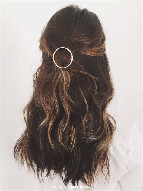 hair styles with barretts the beauty department your daily dose of pretty circle