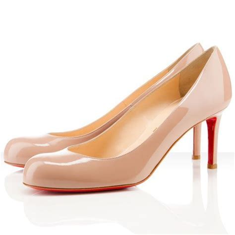 Dear Fashion Discount Louboutins by Simple 70 Patent Leather Shoes