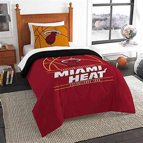 miami heat bedroom set nba miami heat comforter set bed bath beyond