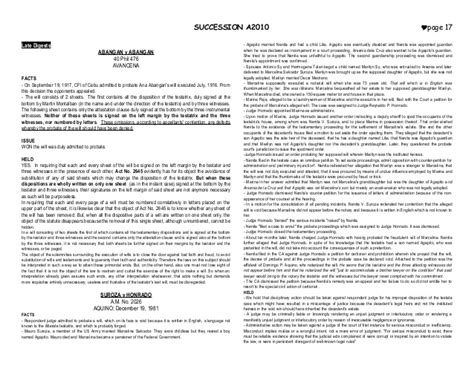 Petition Sle Philippines Succession Digests Part 2