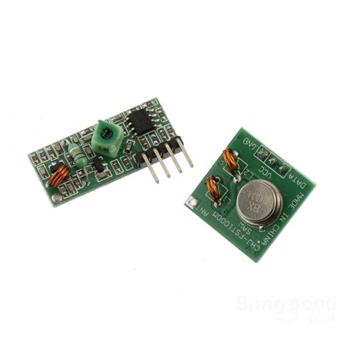 Terbaru 433mhz Rf Wireless Receiver Transmitter Arduino Arm Mcu 433mhz rf transmitter with receiver kit for arduino arm