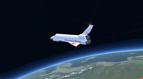 space craft for nasa space shuttle for fsx