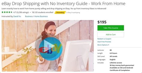 ebay work from home the 134 best udemy courses for entrepreneurs freelancers