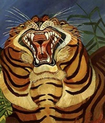 animali da cortile definizione tiger s 1940 antonio ligabue wikiart org
