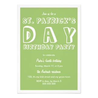 st s day invitation card templates free st patricks day invites 1 000 st patricks day