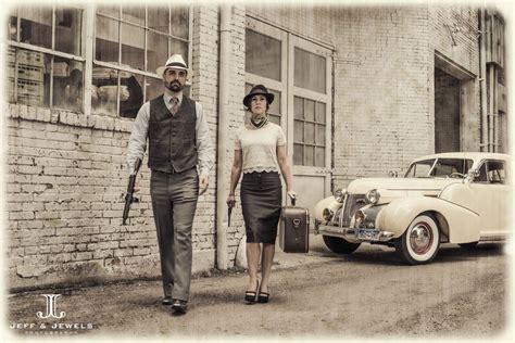 denver engagement photography bonnie clyde theme www jeffandjewels bonnie clyde