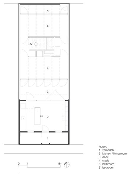 Greenhouse Floor Plan by Urbanes Cottage Greenhouse In Melbourne Detail De